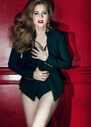 Amy Adams - GQ UK Magazine (April 2016)