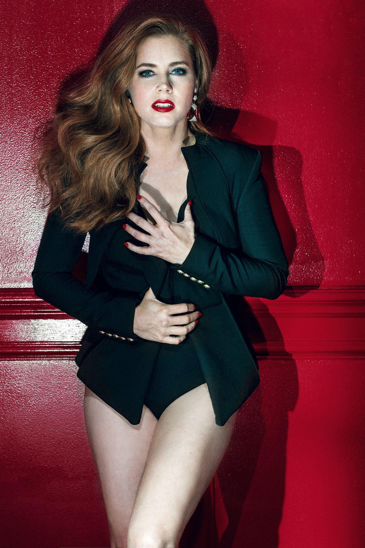 Amy Adams - GQ UK Magazine (April 2016)