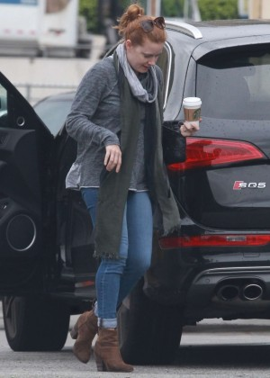 Amy Adams Headed at a gymnastic class in Culver City