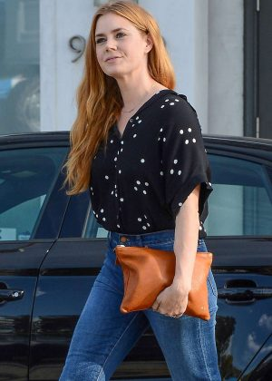 Amy Adams in Blue Jeans out in Los Angeles