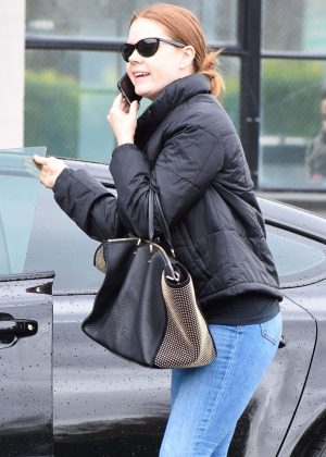 Amy Adams in Jeans - Shopping in Beverley Hills