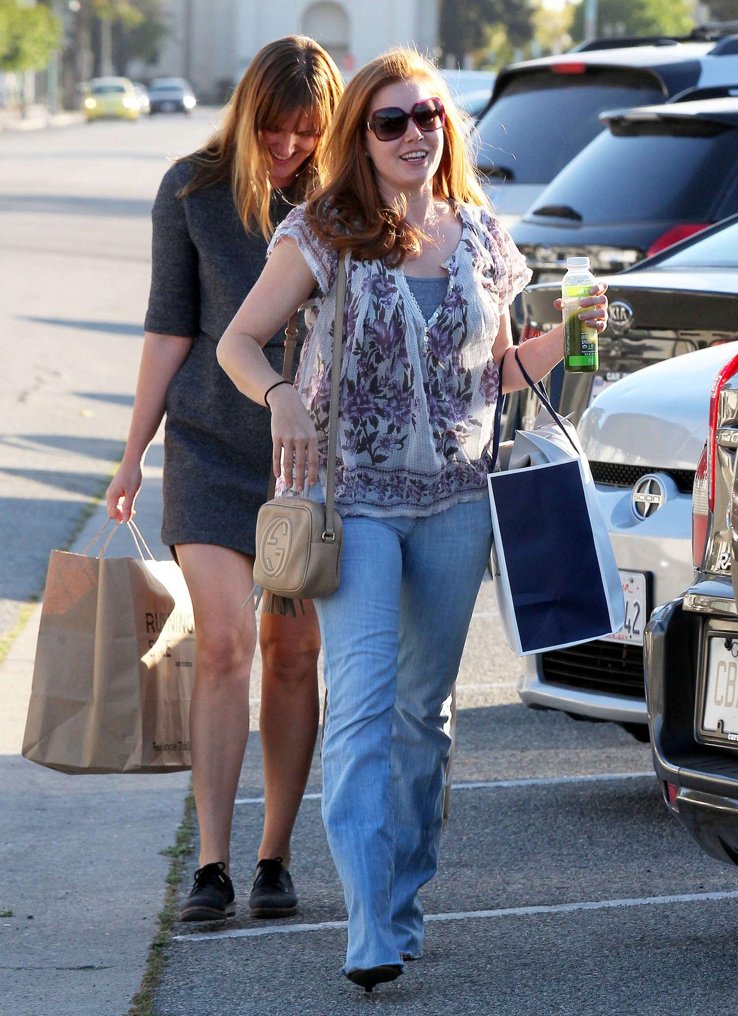 Amy Adams 2015 : Amy Adams in Jeans -13