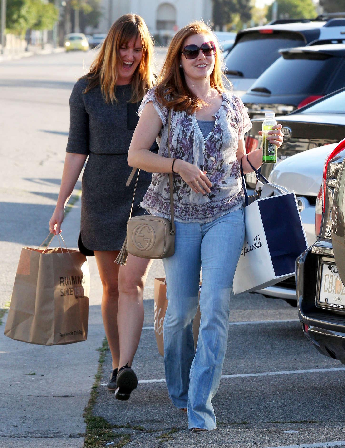 Amy Adams 2015 : Amy Adams in Jeans -14
