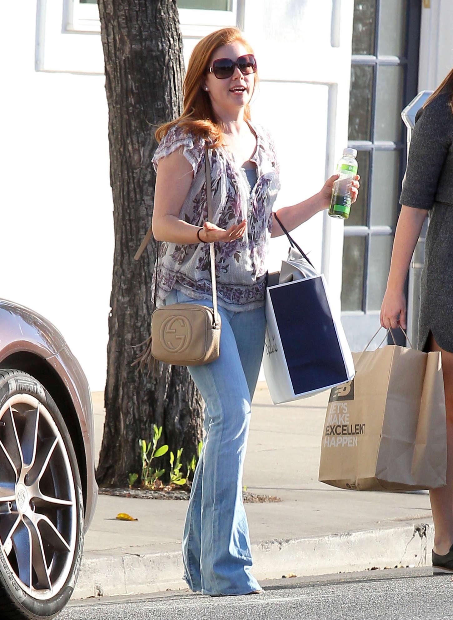 Amy Adams 2015 : Amy Adams in Jeans -16