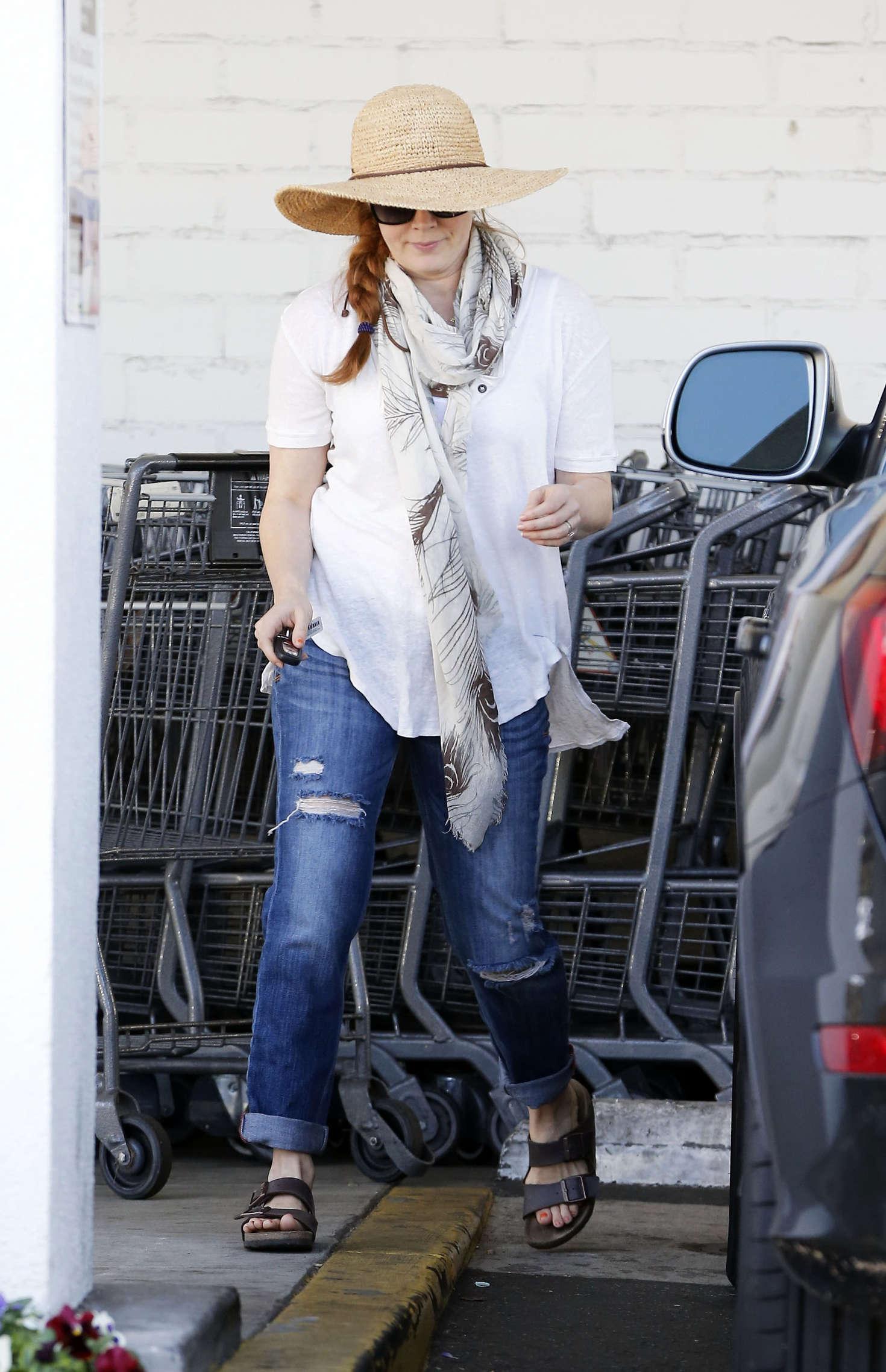 Amy Adams 2016 : Amy Adams in Jeans Shopping in LA -01