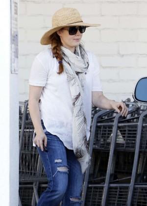 Amy Adams in Jeans Shopping in LA