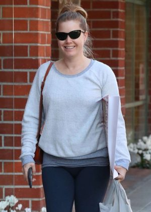 Amy Adams in Spandex - Out in Beverly Hills