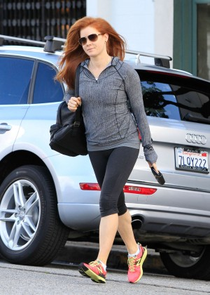 Amy Adams in Tight Leggings out in Los Angeles