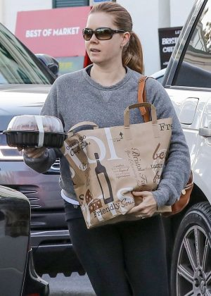 Amy Adams in Tights - Shopping in Beverly Hills