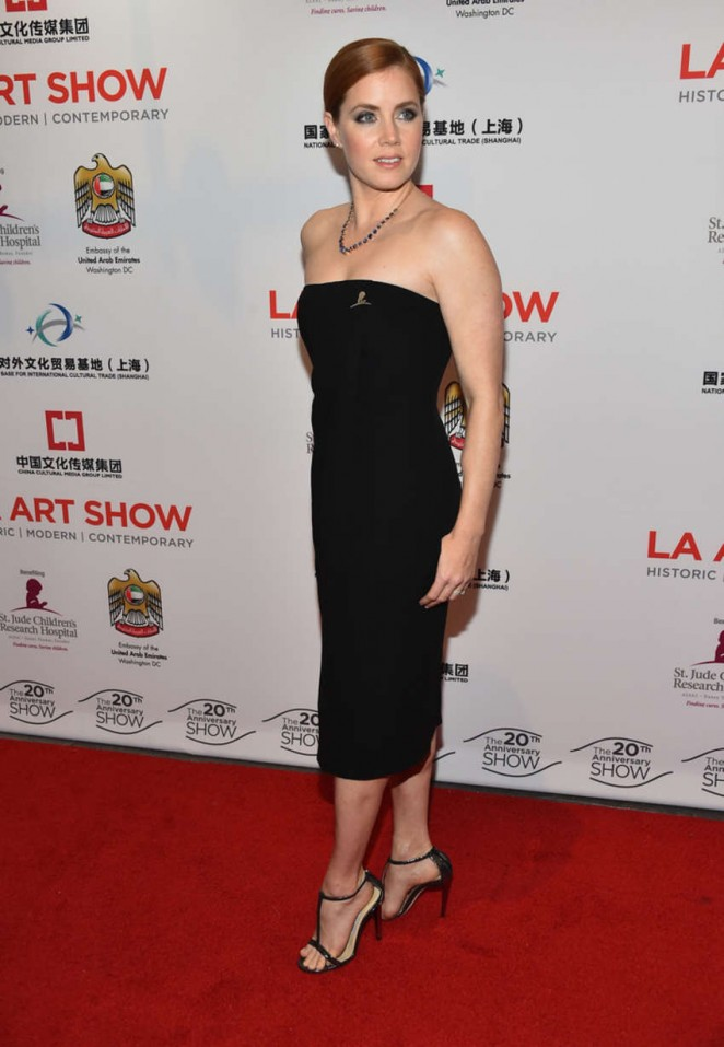 Amy Adams - LA Art Show 2015 Opening Night Premiere Party in LA