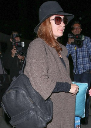 Amy Adams - LAX airport in LA