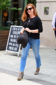 Amy Adams - Leaves Her Hotel in NYC