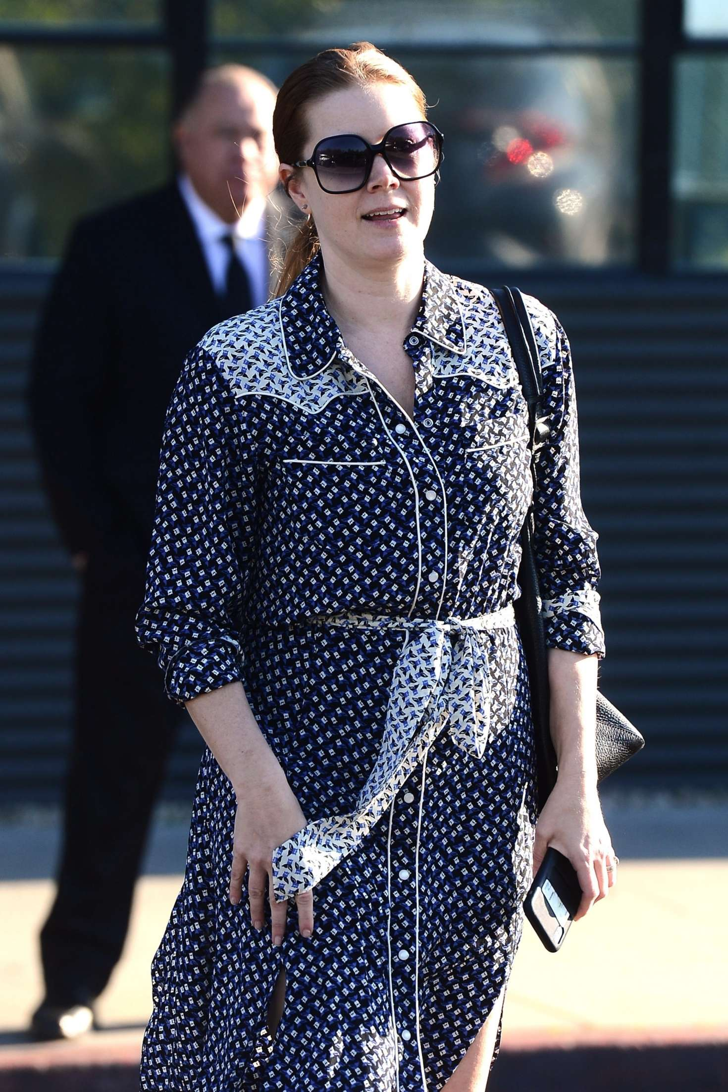 Amy Adams 2019 : Amy Adams: Leaving an Office in Beverly Hills -01