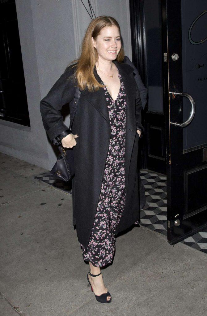 Amy Adams - Leaving Craig's in West Hollywood