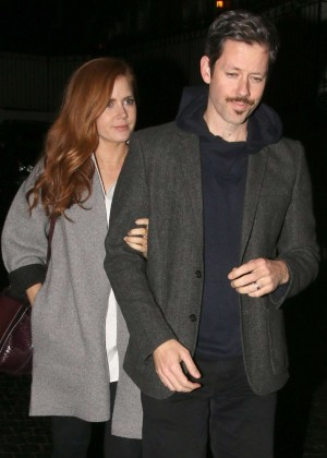 Amy Adams - Leaving the Chateau Marmont in West Hollywood