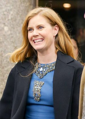 Amy Adams: Leaving The NBC Studios -08 - GotCeleb