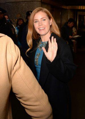 Amy Adams – Leaving The NBC Studios in New York City  Amy Adams