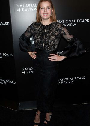 Amy Adams - National Board of Review 2016 Awards Gala in New York