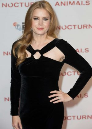 Amy Adams - 'Nocturnal Animals' Premiere in London