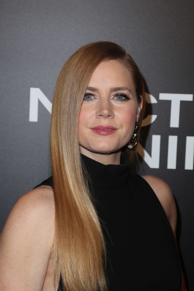 Amy Adams - 'Nocturnal Animals' Premiere in Los Angeles