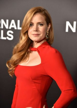 Amy Adams - 'Nocturnal Animals' Premiere in New York