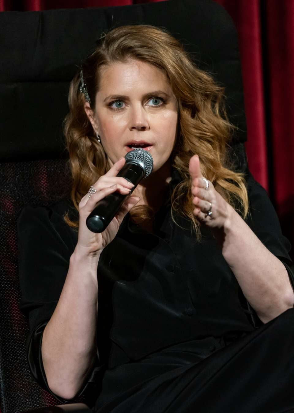 Amy Adams - Official Academy Screening of 'Vice' in NYC