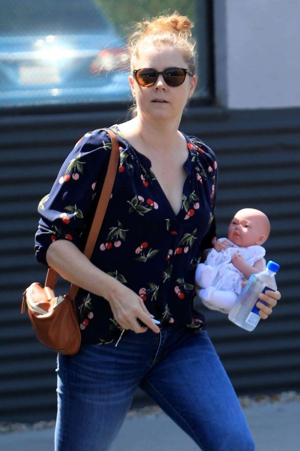Amy Adams - Out and about in Beverly Hills
