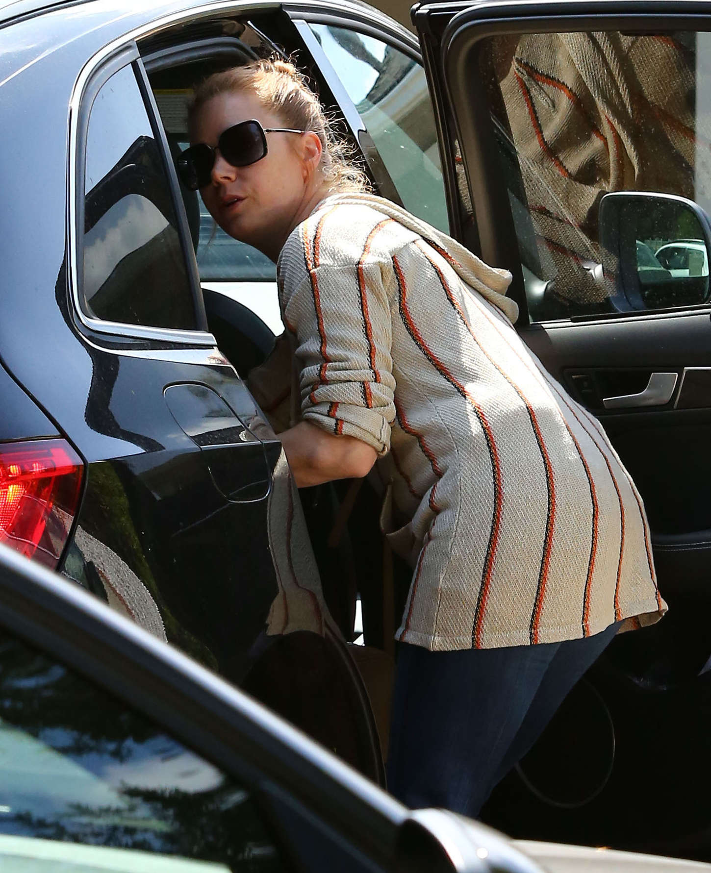 Amy Adams - Out and about in Studio City
