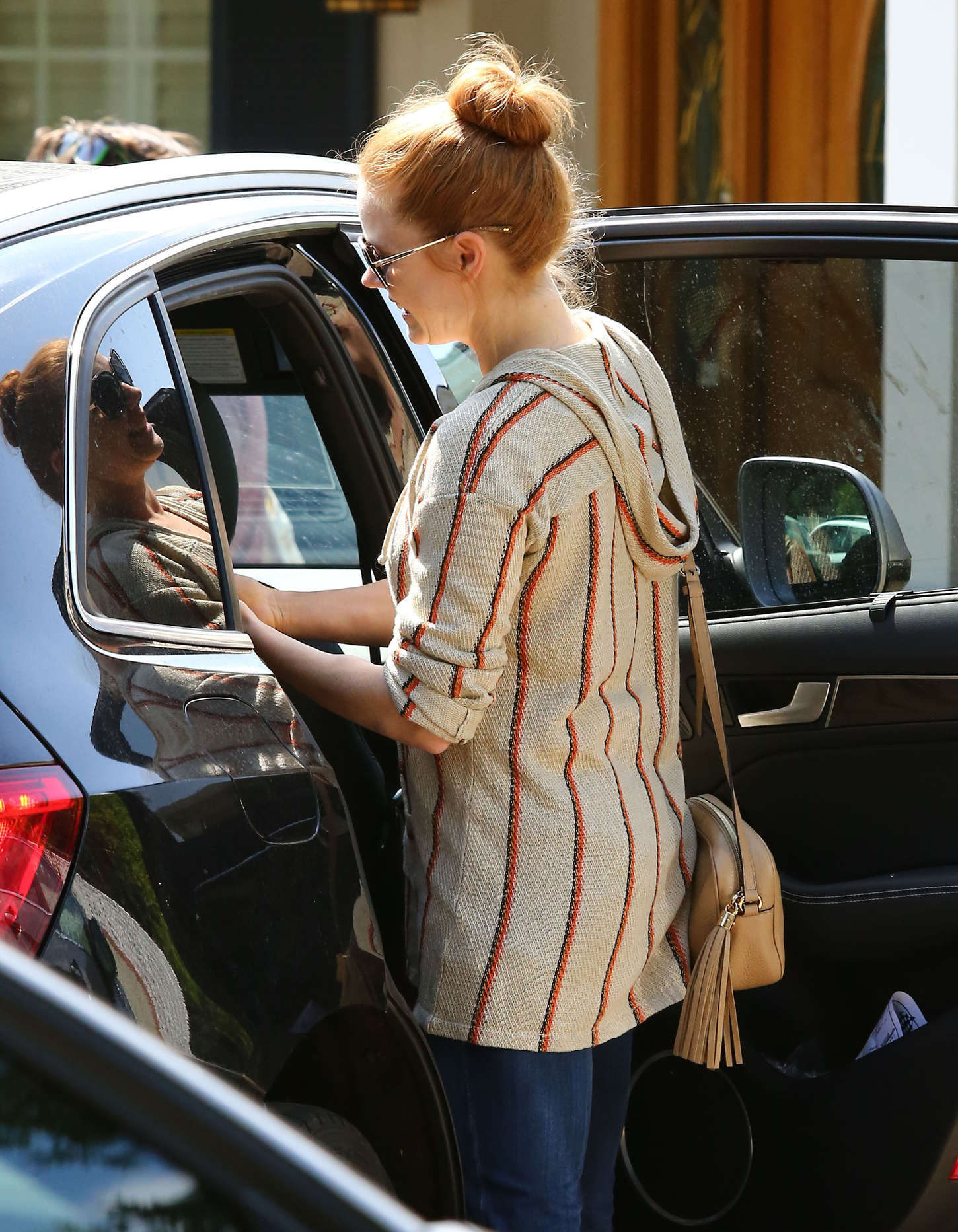 Amy Adams 2015 : Amy Adams: Out in Studio City -17
