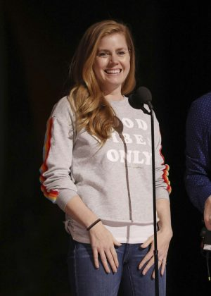 Amy Adams - Rehearsals for the 89th Annual Academy Awards in LA