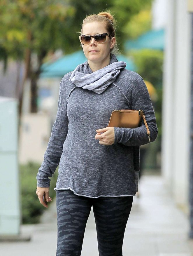 Amy Adams shopping in Los Angeles