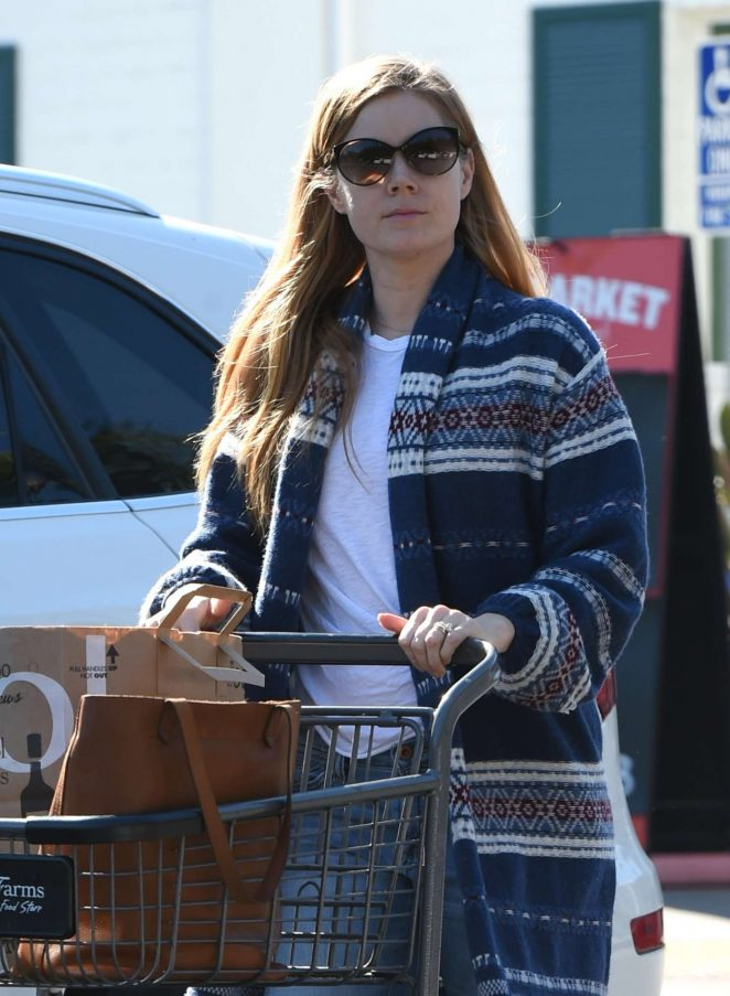 Amy Adams - Shops at Bristol Farms in Los Angeles