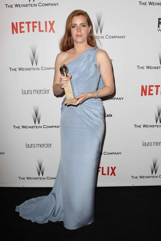 Amy Adams - The Weinstein Company & Netflix's Golden Globes Party 2015 in Beverly Hills