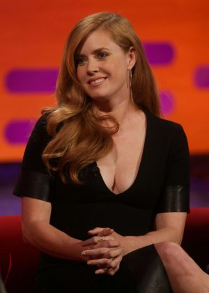 Amy Adams - Visits 'The Graham Norton Show' in London
