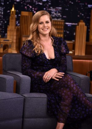 Amy Adams - Visits 'The Tonight Show Starring Jimmy Fallon' in NY