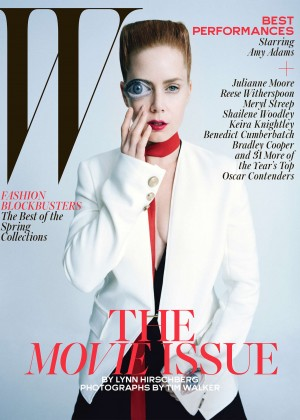 Amy Adams - W Magazine (February 2015)