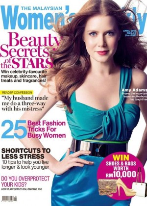 Amy Adams - Women's Weekly Malaysia Cover (April 2015)
