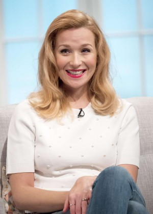 Amy Beth Hayes - Lorraine TV Show in London