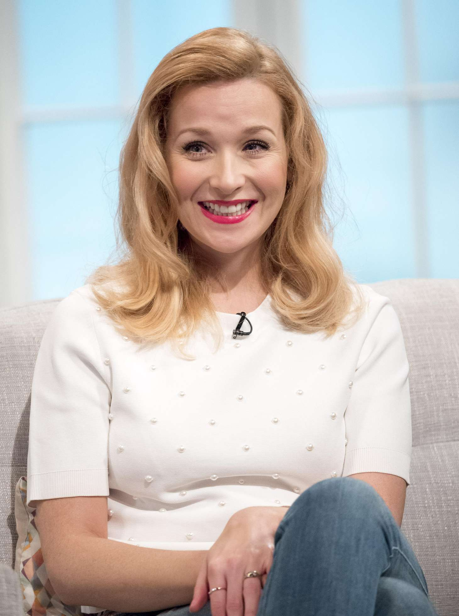 Amy Beth Hayes - Lorraine TV Show in London