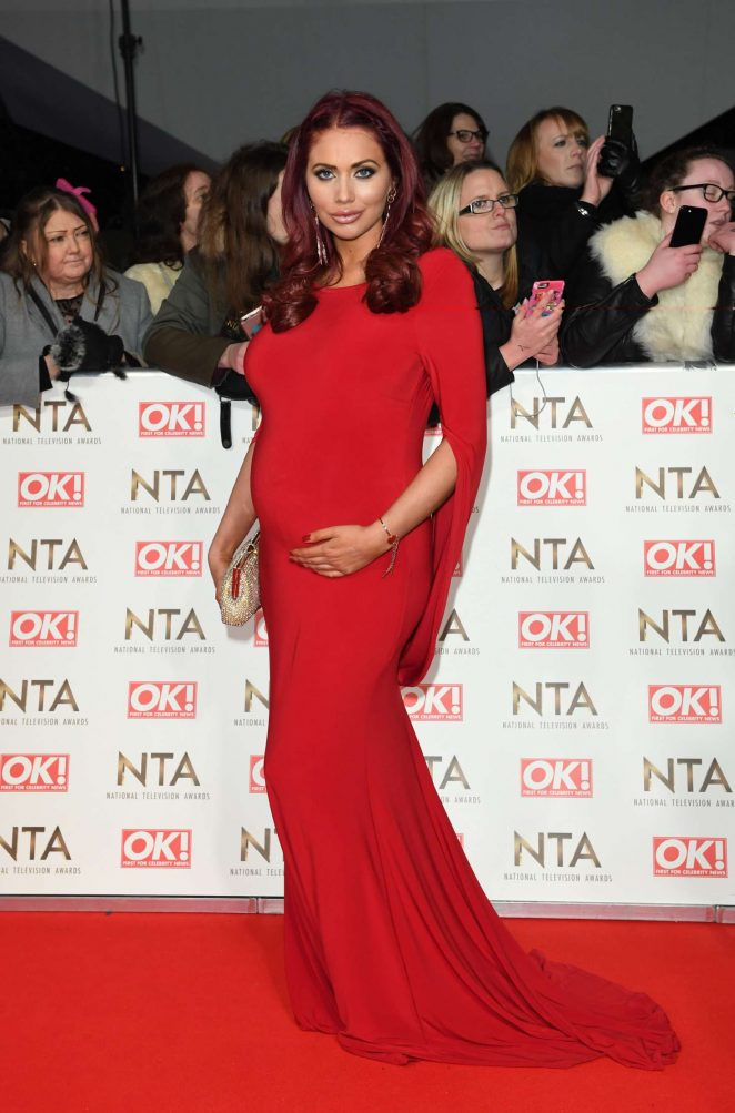 Amy Childs - 2017 National Television Awards in London