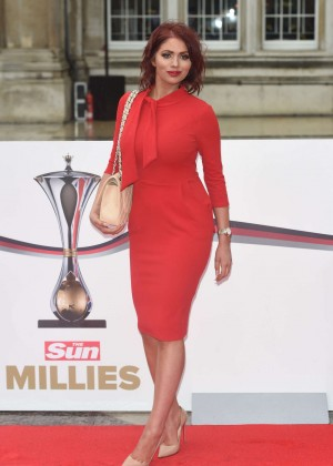 ed974002ddc Amy Childs - A Night of Heroes  The Sun Military Awards 2016 in London