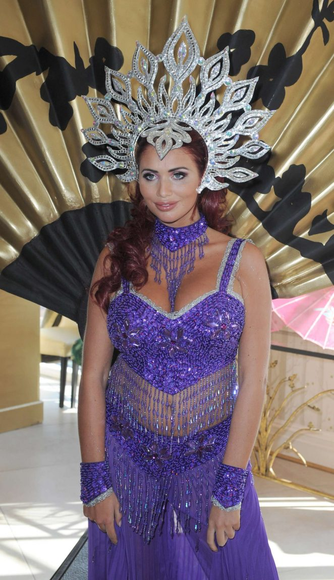 Amy Childs - Christmas Panto Launch in Liverpool