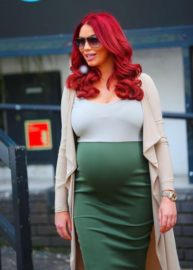 Amy Childs Leaves ITV Studios in London
