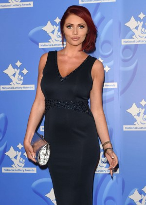 Amy Childs - National Lottery Awards 2015 in London