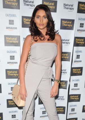 Amy Childs - 'Natural Therapy' Party in London