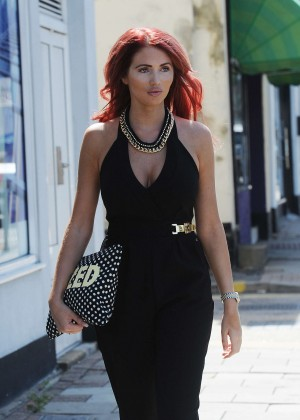 Amy Childs out in Essex