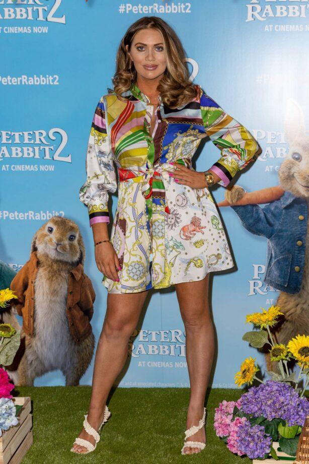 Amy Childs - Peter Rabbit 2: The Runaway Film Gala Screening in London