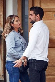 Amy Childs - Pictured with new boyfriend Tim