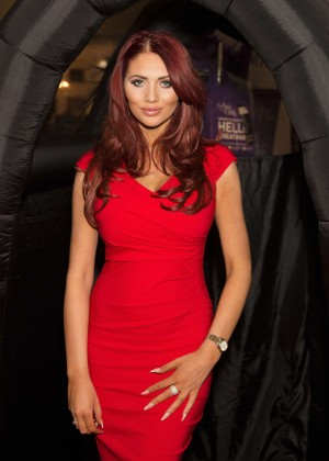 Amy Childs - Professional Beauty Photocall in London