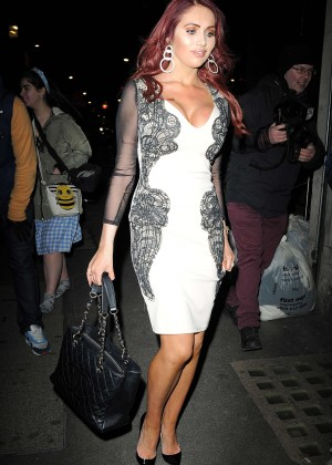 Amy Childs - The Sun: Bizarre Party 2015 in London